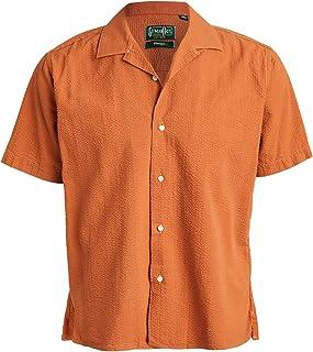 Gitman Vintage Men's Seersucker Shirt with Camp Collar