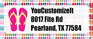 Flipflop Return Address Labels (Personalized)
