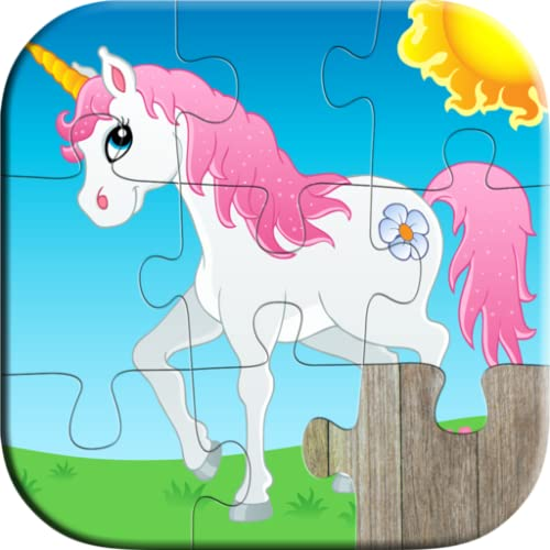 Animals Jigsaw Puzzle Games for Kids - Educational learning games for kindergarten and preschool toddlers, boys and girls ages 3, 4, 5 years old (Free trial edition)