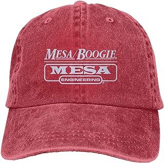Maxdo Men & Women Hip Hop Cap Adjustable with Mesa Boogie Logo Printing
