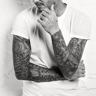Kotbs 6 Sheets Temporary Tattoos for Men Women Neck Arm Body Tattoo Sticker Body Art Make up Temporary Tattoo Custom Paper Transfer Fake Tattoo