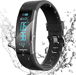 comprar comparacion Pulsera de Actividad Inteligente Impermeable IP67, AGPTEK Reloj Deportivo con GPS Podómetro, Monitor de Ritmo, Calorías, S...
