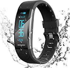 AGPTEK Fitness Tracker Watch for Men Women Smart Bracelet with Heart Rate Monitor/Sleep Monitor IP67 Waterproof Bluetooth ...
