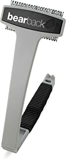 Bearback Back Scratcher: A Uniquely Better Back Scratching Experience. Superior Quality Folding Back and Body Brush. (Gray)