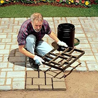 Path Maker Mould Paving DIY Lawn Concrete Paving Garden Path Molds 17.7inch x 15.7inch (Style F)