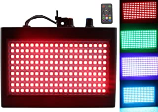 180 LED DJ Lichter,  Latta Alvor Disco Licht Flashing Stage Strobe Light für Partys Disco Bühnenbeleuchtung mit Auto Sound aktiviert Fernbedienung (multicolored)