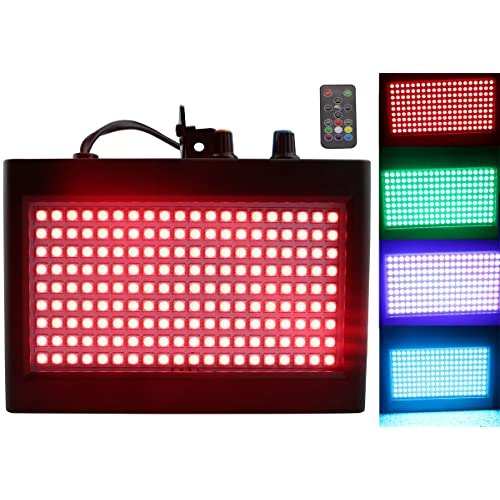Led Strobe Lights 180 White Color Auto Strobe Lights Dj Stage Lighting Disco Party Stroboscope Lights Commercial Lighting