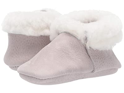 Freshly Picked Salt Flats Shearling Moccasin (Infant/Toddler) (Gray) Kid