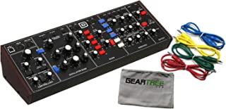 Behringer Model D Legendary Analog Synthesizer Bundle w/ 4 Cables and Cloth