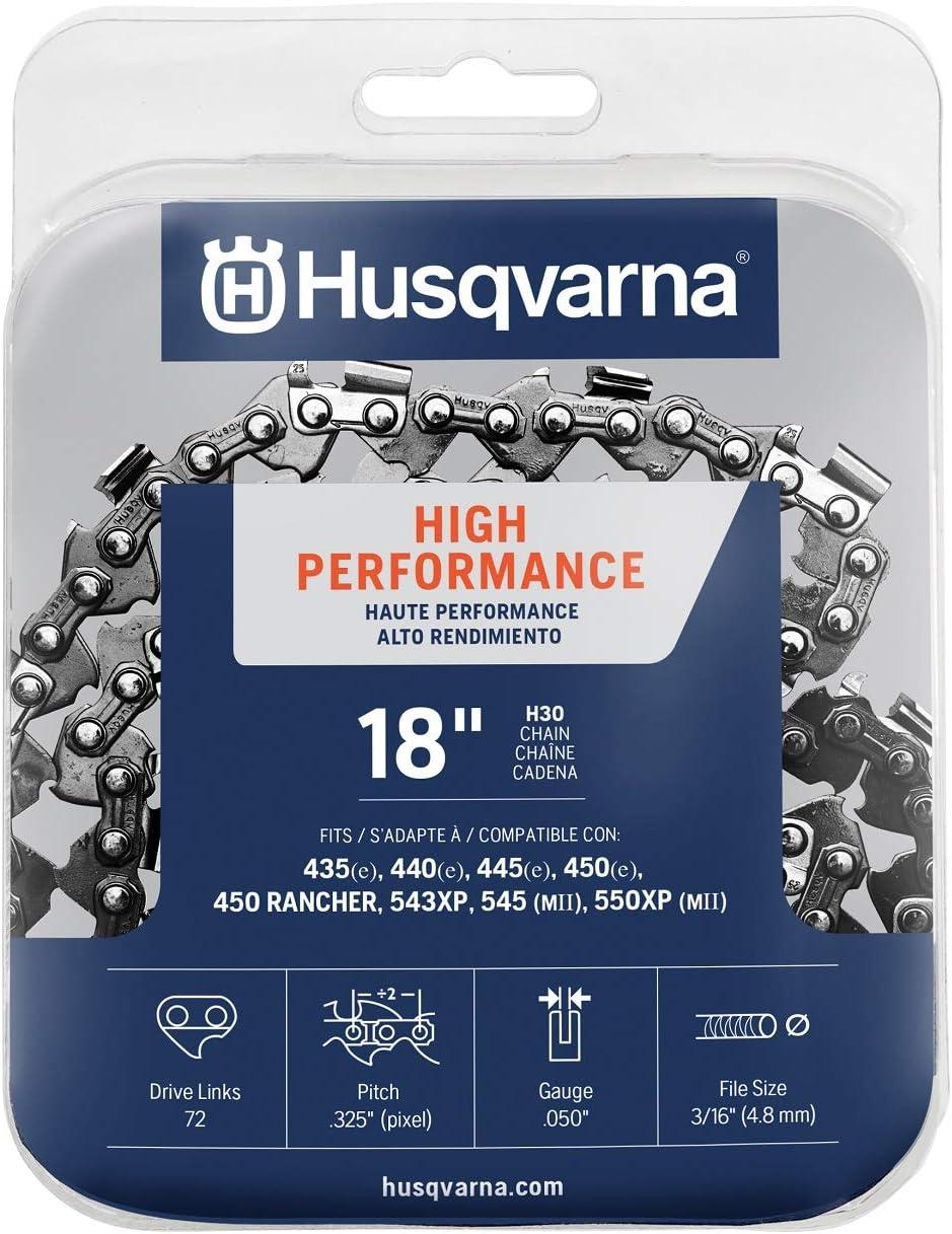 Husqvarna Chainsaw chain 18-inch .050 Gauge