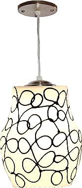 Nogaiya Glass Ceiling Lamp (Multicolor)