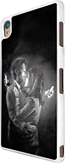 Banksy Grafitti Art Mobile Lovers Design Sony Xperia Z3 Fashion Trend Case Back Cover Metal and Hard Plastic Case