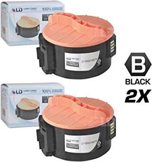 LD Compatible Toner Cartridge Replacement for Xerox 106R02180 (Black, 2-Pack)
