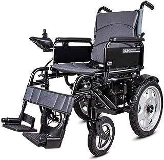 Sillas de ruedas eléctricas para adultos Plegable Silla de ruedas eléctrica / manual / automático conmutable cuatro ruedas Cuidado Inteligente Escalada no deslizante Función silla de ruedas Para los a