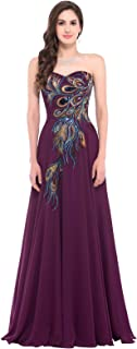 Strapless Ball Gown Evening Prom Party Dress CL675