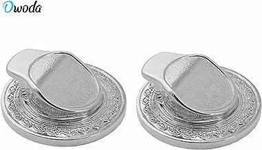 O'woda Metal Car Hook Smartphone Ring Holder Mount for Cellphone Ring Holder (Silver)