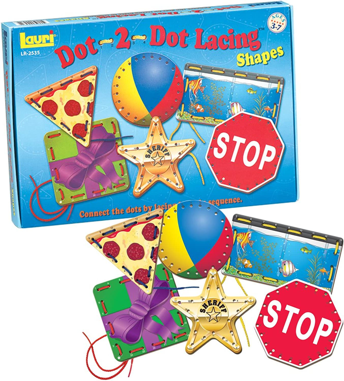 Patch Products Dot2Dot Lacing Shapes