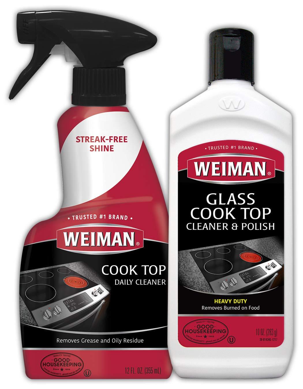 Weiman Ceramic Cooktop Cleaner Burnt