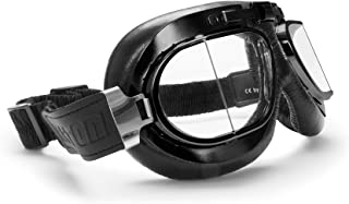 leather flying goggles