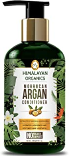 Himalayan Organics Moroccan Argan Oil Conditioner - Hydrating Hair Treatment Therapy - No Parabens & No Sulphate - 300ml