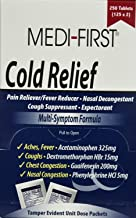8380014 PT# 82248 Non-Pseudo Tab Cold Relief 325mg Oral 125x2/Bx Made by Medique Pharmaceuticals