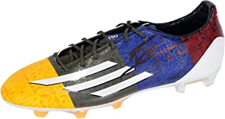 dbcdef3f456 Lionel Messi Barcelona Autographed Adidas White Soccer Cleat - Fanatics  Authentic Certified - Autographed Soccer Cleats