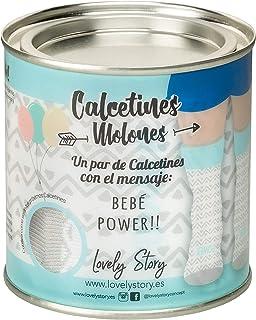 LS LOVELY STORY REGALA HISTORIAS BONITAS, CL0658 Calcetines, Blanco, T.U. Unisex Adulto