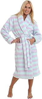 Sponsored Ad - Alexander Del Rossa Women's Plush Fleece Robe, Warm Long Hair Shaggy Bathrobe