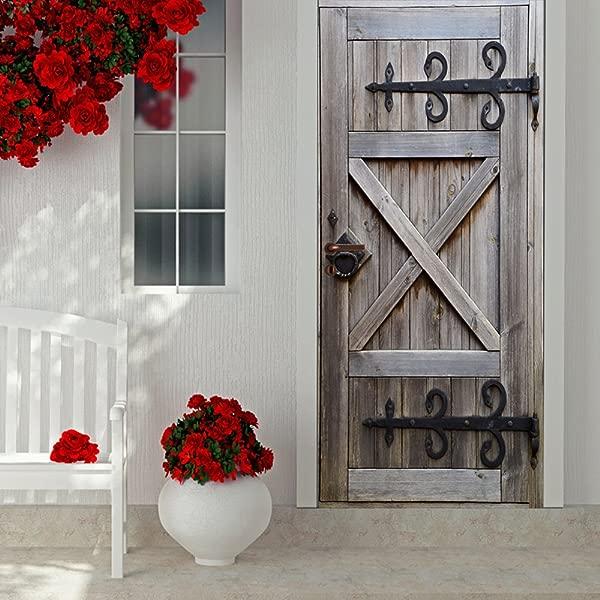 3D Door Sticker Old Wood Door Wallpaper Creative Art Door Mural Decor For Living Room Door L1