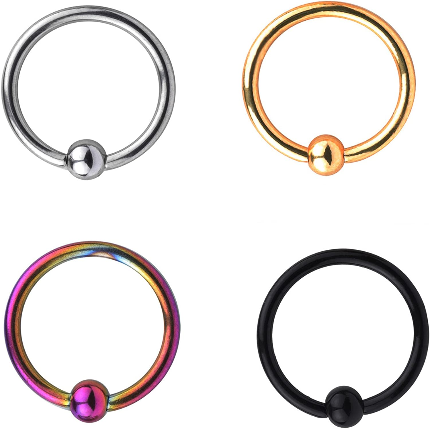 Z2Z 16G Nose Hoop New Max 75% OFF Shipping Free Lip Eyebrow Tragus Cartilage Tongue Helix Sept