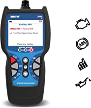 INNOVA Color Screen with Oil Light Reset 3040e Diagnostic Code Reader/Scan Tool with ABS, Live Data OBD2 Vehicles