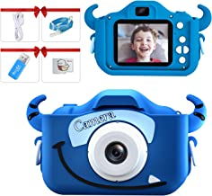 Kids Camera for Boy,Digital Camera for Kid,Children Camera Toy Game Educational,Video,1080P HD 32GB SD Birthday Gift Chris...