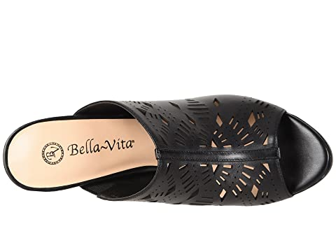 Leather Vita Bella Lark Vita Black Bella Txz6xXB