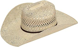 Twister Mens Twisted Weave Straw Cowboy Hat 71/4 Natural