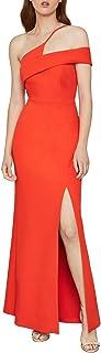 Women's Asymmetrical Neck Long Evening Dress