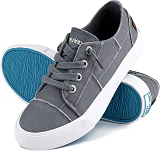 Womens Canvas Shoes Play Sneakers Slip on Fashion Shoes...