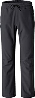Wantdo Women's Softshell Insulated Pants Ski Fleece Wear Windproof Overalls