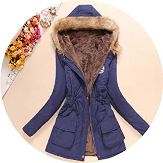 Sexy Stores 2018 New Parkas Women Winter Coat Thickening Cotton Winter Jacket Women's Outwear Parkas Overcoat