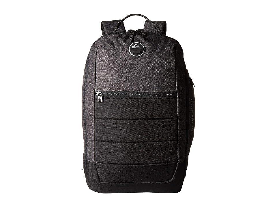 Quiksilver Upshot Plus Backpack (Black Heather/Black) Backpack Bags