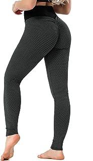 GOSOPIN Women High Waist Butt Lifting Leggings Yoga Pants Tummy Control Scrunch Booty Workout Tights
