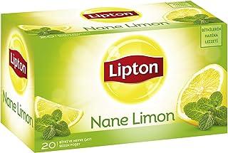 Lipton Nane Limon Bardak Poşet Bitki Çayı 20'Li