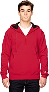 Champion S185 Cotton Max Hooded Quarter-Zip Sweatshirt
