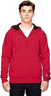 Champion S185 Cotton Max Hooded Quarter-Zip Sweatshirt