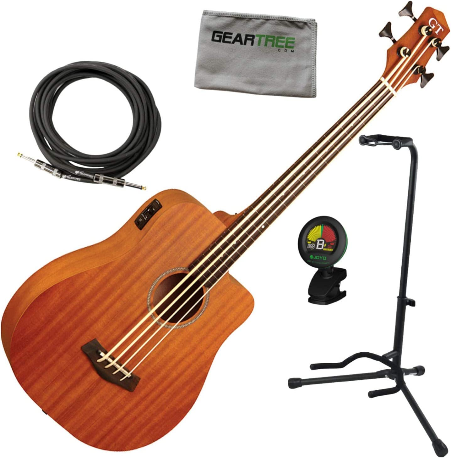 Gold Tone Finally resale Spring new work one after another start M-Bass25 FL 25.5'' electric acoustic Mi Scale fretless