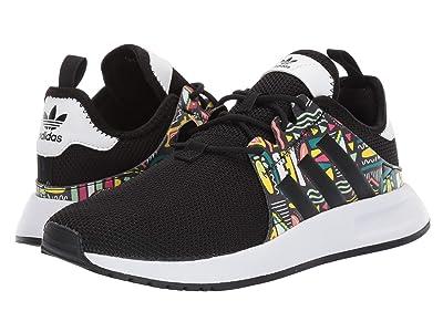 adidas Originals Kids X_PLR J (Big Kid) (Black/Print/White) Kids Shoes