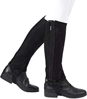 tredstep leather half chaps