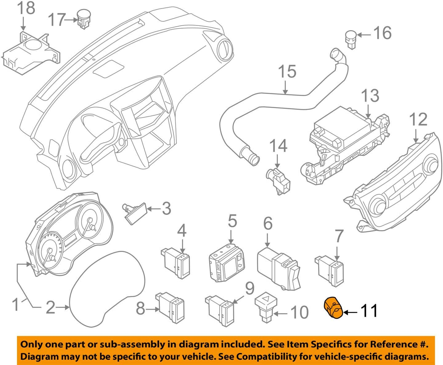 Nissan 25150-3SH0A Max 73% OFF Classic Ignition Switch Starter