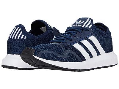 adidas Originals Kids Swift ESS J (Big Kid) (Collegiate Navy/Footwear White/Core Black) Boys Shoes
