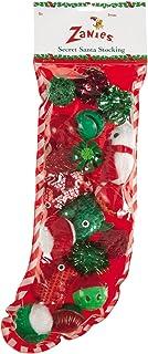 Zanies Secret Santa Stockings with 18 Cat Toys