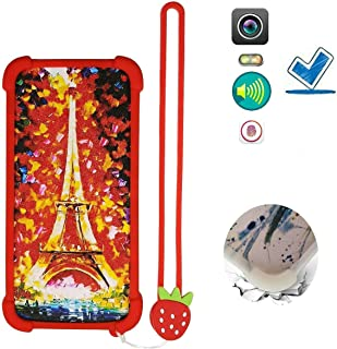 Case for Tecno Spark 4 Air Case Silicone border + PC hard backplane Stand Cover TT